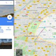 Google Maps : Le nouveau design devient la norme